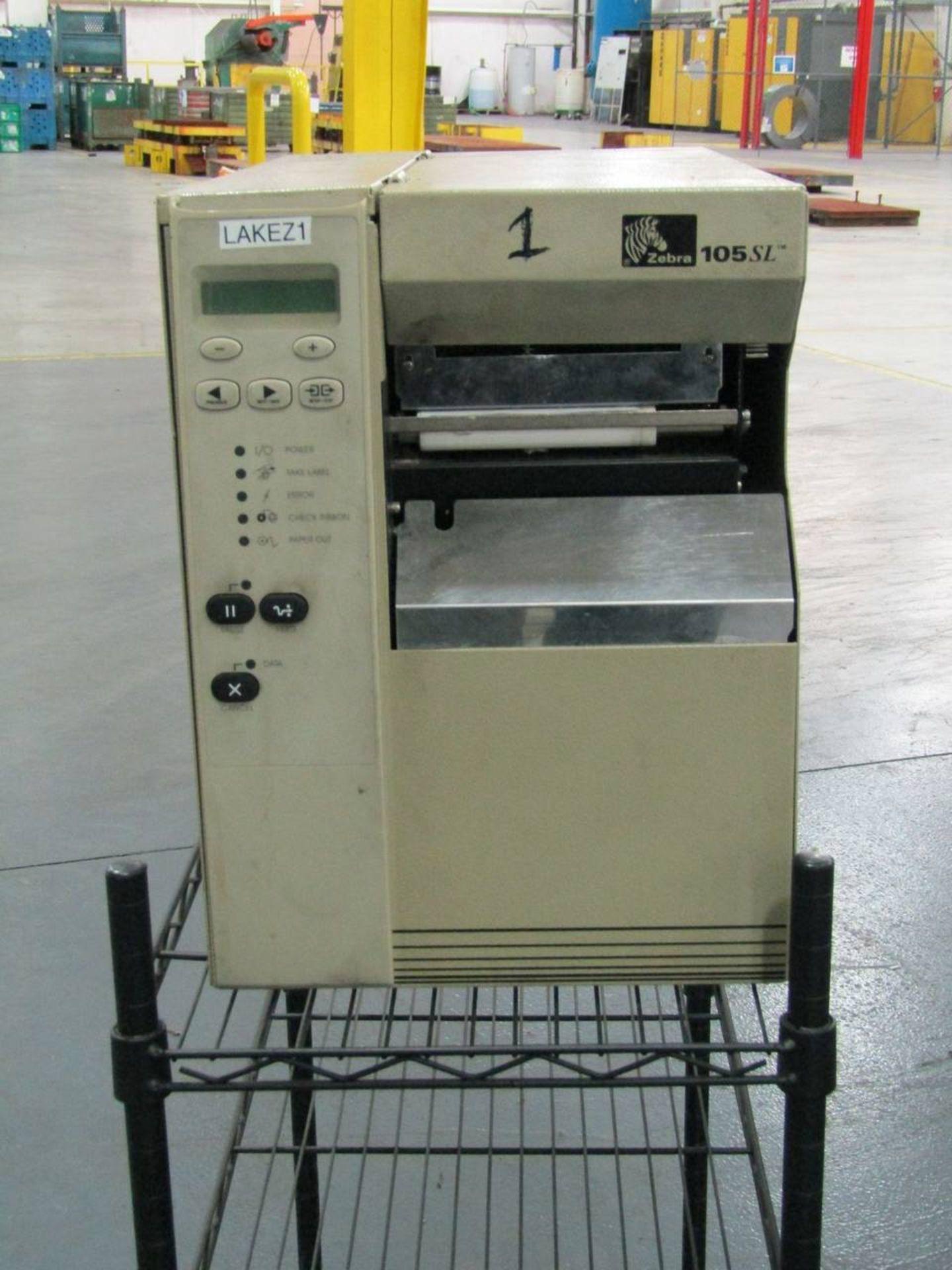 Zebra 105SL Thermal Label Printer
