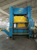 1980 Komatsu E2P300W 330 Ton Straight Side Double Crank Press