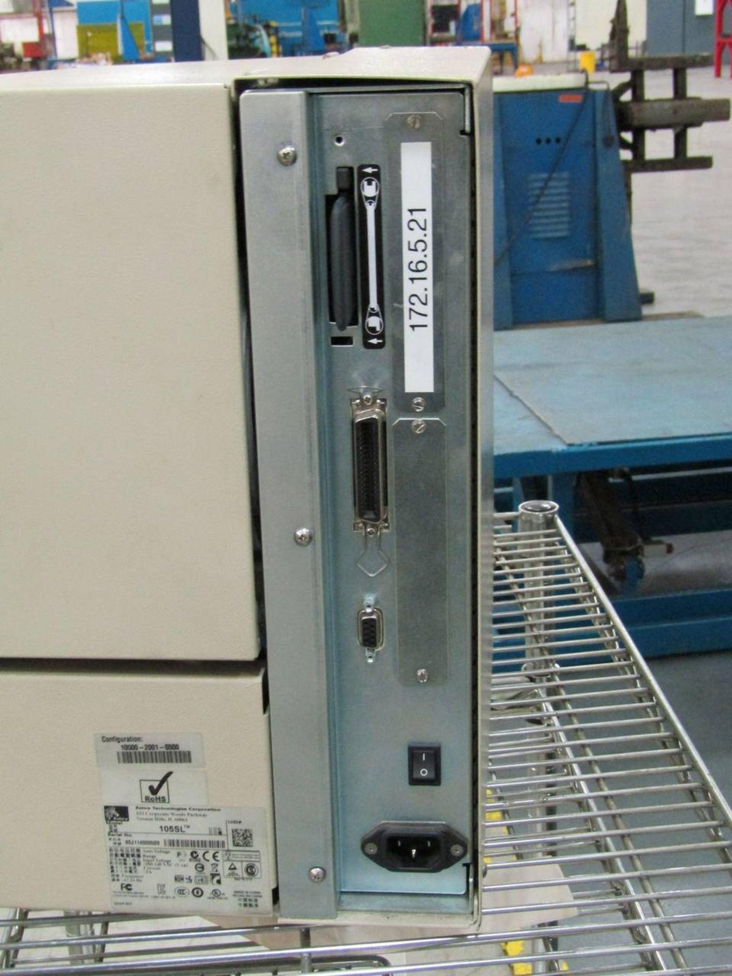 Zebra 105SL Thermal Label Printer - Image 3 of 4