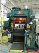 Bliss HP2-100-48-30 100 Ton Straight Side High Speed Press