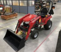 2019 Massey Ferguson GC1725M Tractor w/ Front Loader