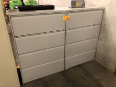HON 4-Drawer lateral File Cabinets