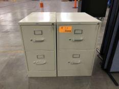 HON 2-Drawer Vertical File Cabinets