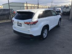 2016 Toyota Highlander LE Sport Utility Vehicle