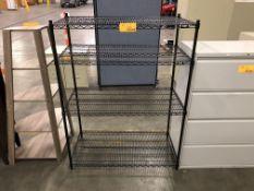 Uline 4-Tier Wire Shelf