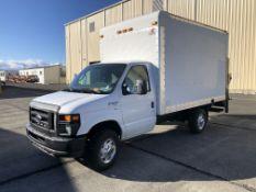 Late Delivery 4/9 - 2012 Ford E350 Super Duty 12' Box Truck w/ Lift Gate