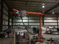 2010 Knight Industries Jib Crane with Pneumatic Balancer