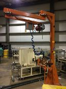 2010 Kinght Industries Jib Crane and Weld Station