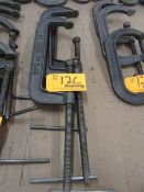 """(3) 12"""" C Clamps"""