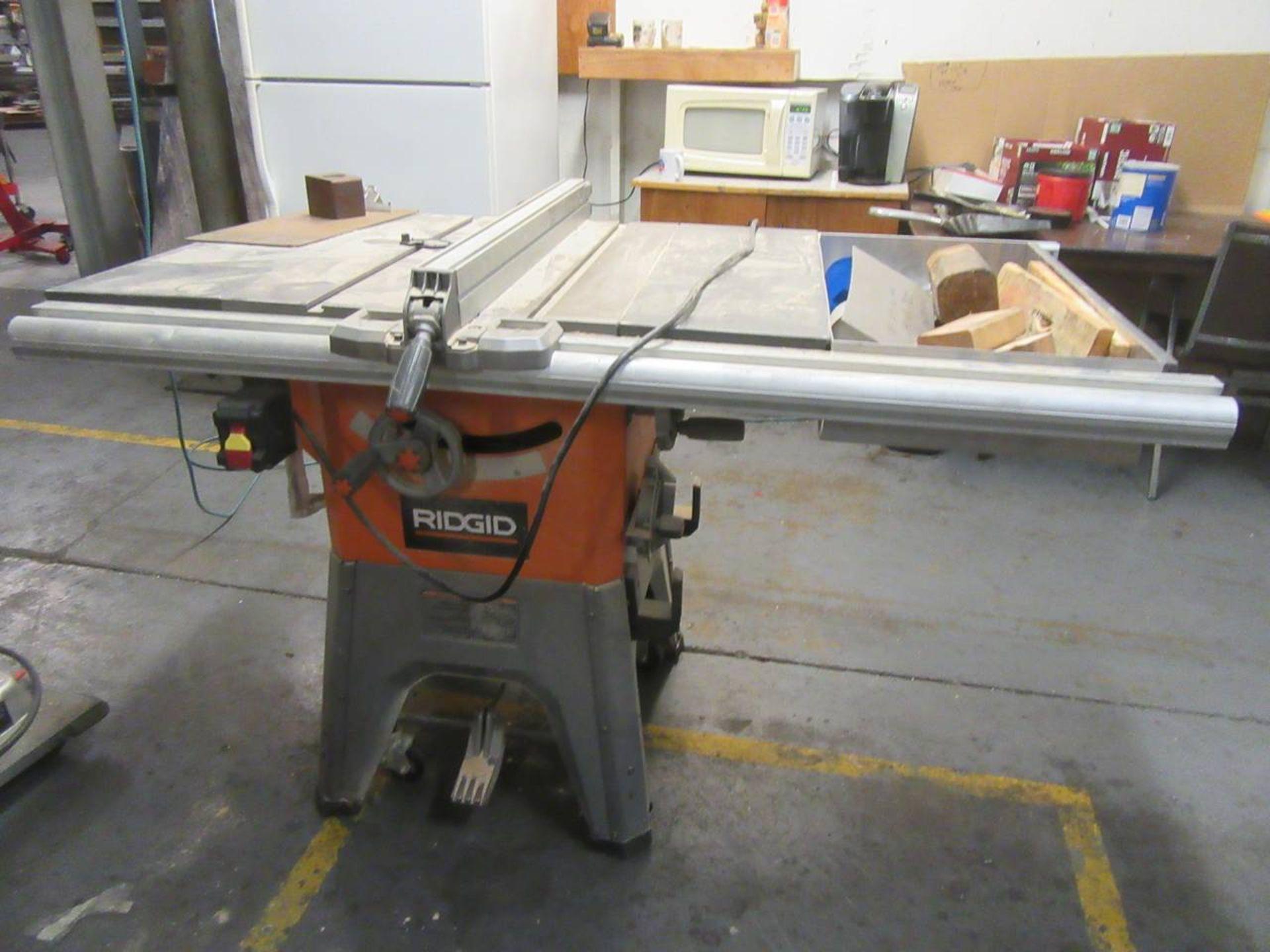 "Ridgid R4512 10"" Table Saw"