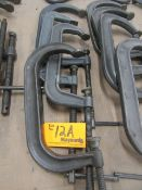 """(4) 12"""" C Clamps"""