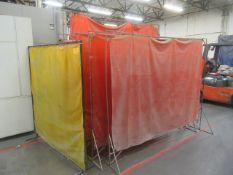 (9) Welding Curtains