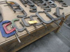 (8) C Clamps