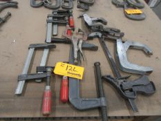 Lot of Various Clamps