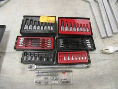ICON Lot of Hex Sockets with Wrench