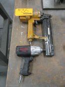 Pneumatic Staple Gun and Drill