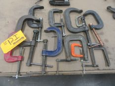 (11) C Clamps