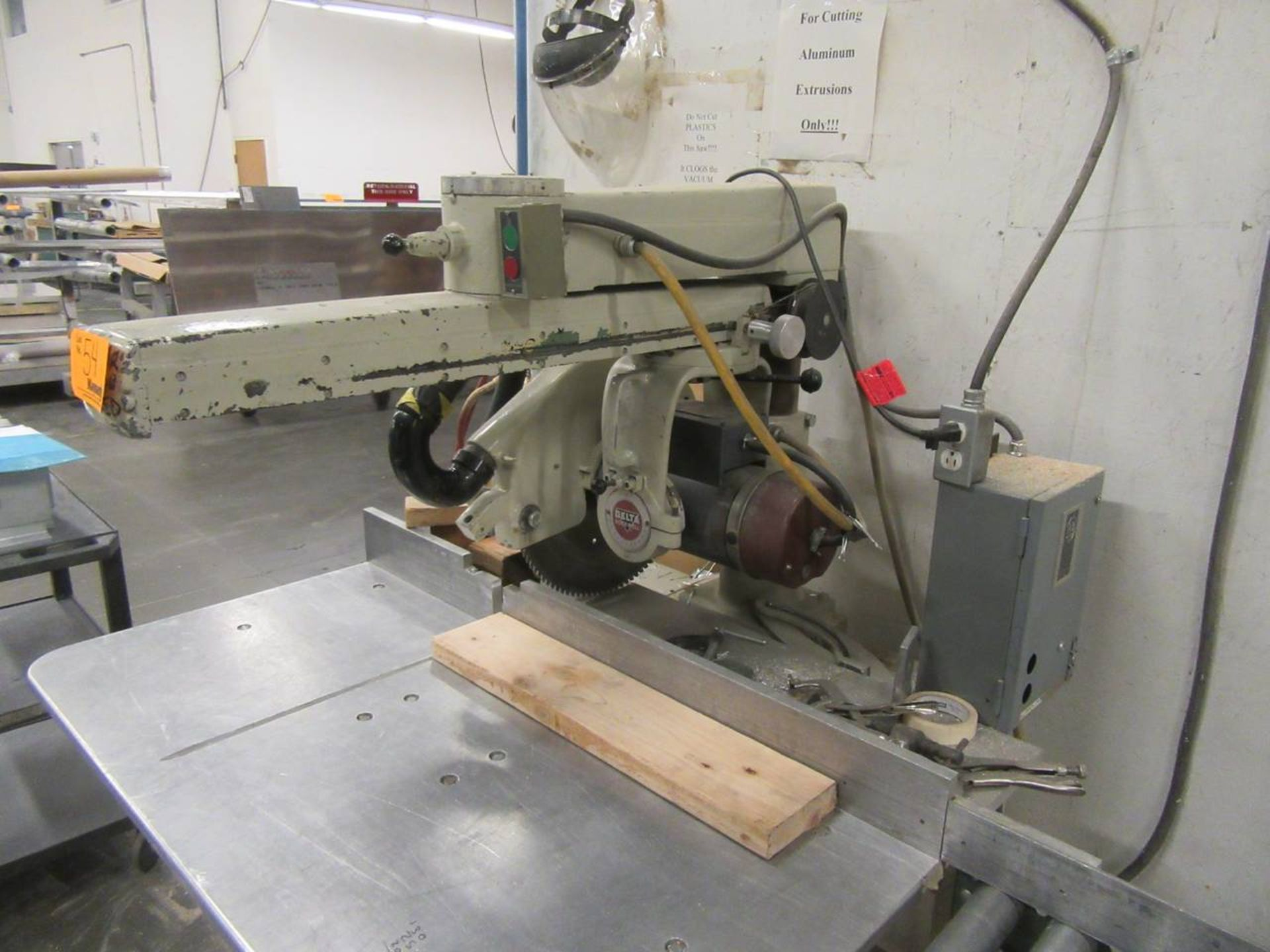 Delta 50-C Radial Arm Saw - Image 3 of 3