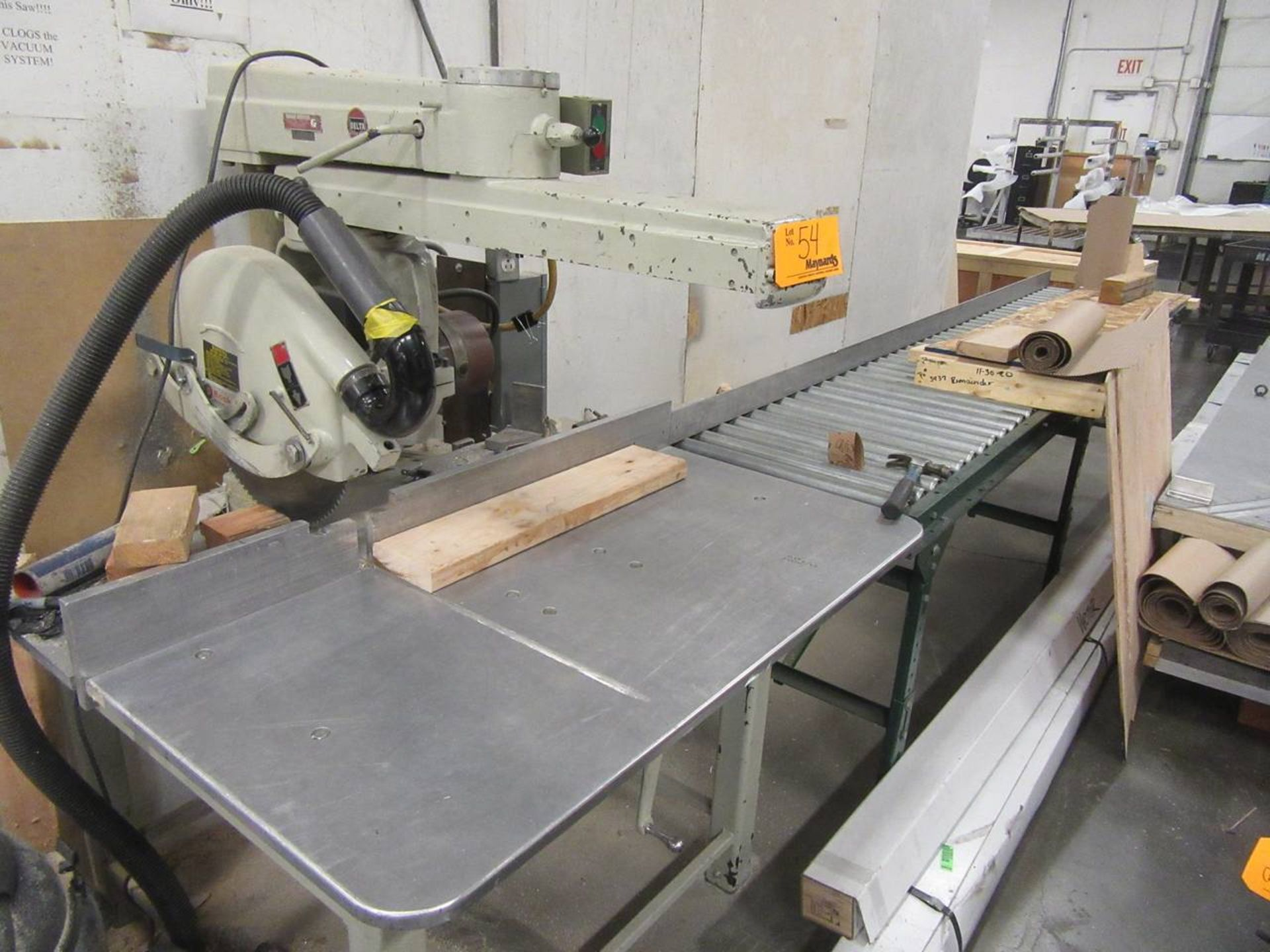 Delta 50-C Radial Arm Saw - Image 2 of 3