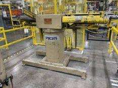 "Feed Lease DAR-6M-24 6,000 Lb. x 24"" Feed Lease Double Arm Coil Reel [SUBJECT TO BULK BID]"