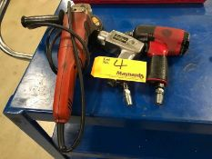 Lot of (3) Angle Grinder and Air Wrenches
