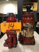 Lot of (2) Hydraulic Jacks