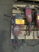 Milwaukee Right Angle Corded Grinders