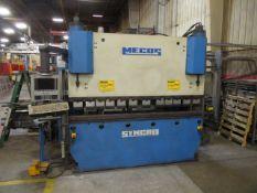 2001 Mecos Syncro 70/250 70 Ton x 8' CNC Press Brake