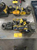 Dewalt Assorted Cordless Drills