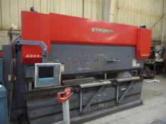 2006 Accurpress 515012 150 Ton x 12' 6-Axis CNC Press Brake