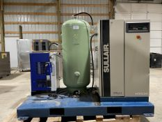 2018 Sullair SLR2.2 3 HP Oil Free Scroll Air Compressor System on Skid