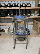50L Glass Reactor w/ Stainless Steel Basket