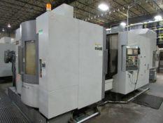 2007 Hyundia Kia Machine HS500 Horizontal 4-Axis CNC Machining Center