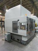 2009 Hyundia Kia Machine HIV50D Vertical 3-Axis CNC Machining Center