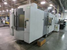 2007 Hyundia Kia Machine HS400 Horizontal 4-Axis CNC Machining Center