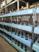 (51) Assorted CAT 50 Taper Tool Holders with Assorted Tooling