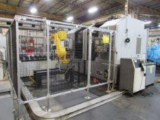 2010 Hyundai Kia Machine SKT-V5R/L F2II-TB Vertical CNC Turret Turning Cell
