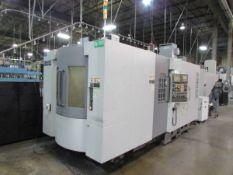 2008 Hyundia Kia Machine HS400 Horizontal 4-Axis CNC Machining Center