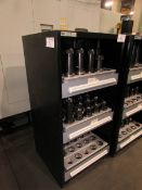 (59) Assorted CAT 50 Tool Holders and Tooling