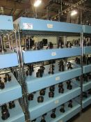 (65) Assorted CAT 50 Taper Tool Holders with Assorted Tooling