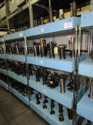(52) Assorted CAT 50 Taper Tool Holders with Assorted Tooling