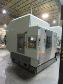 2006 Hyundia Kia Machine HIV50D Vertical 3-Axis CNC Machining Center