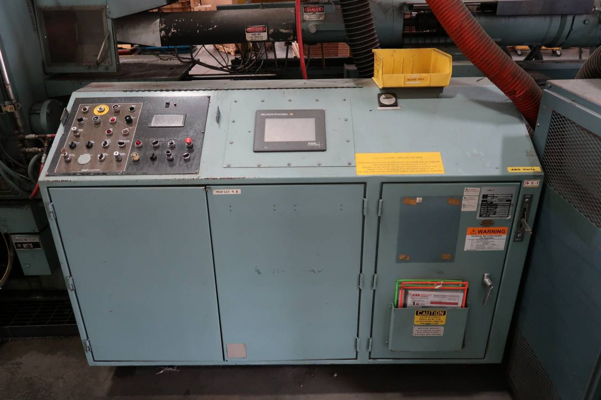 1986 HPM 400-TP-20 400-Ton Thermo Plastic Injection Molding Press - Image 17 of 40
