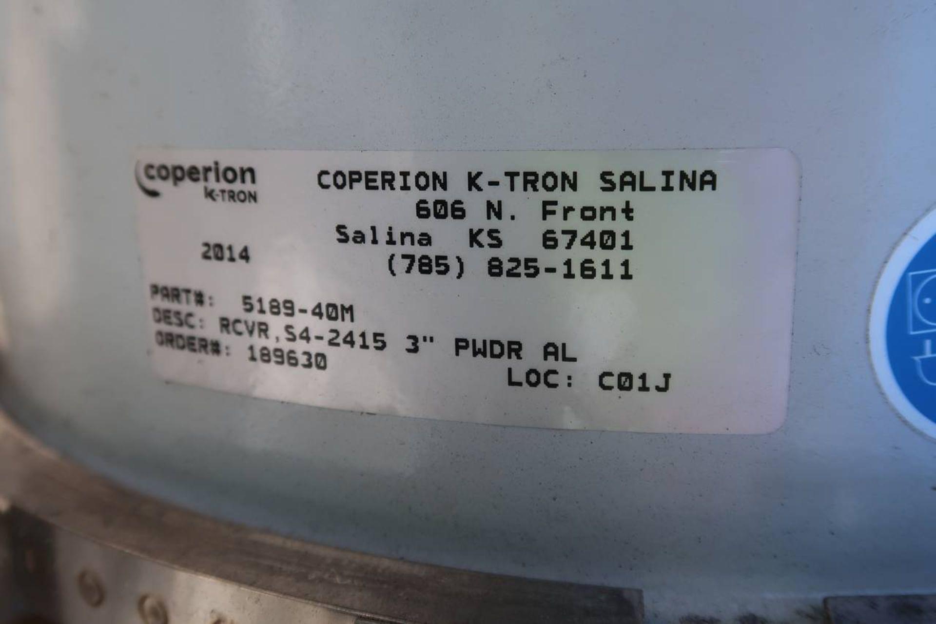 Coperion K-Tron 5189-40M Vacuum Hopper - Image 4 of 4