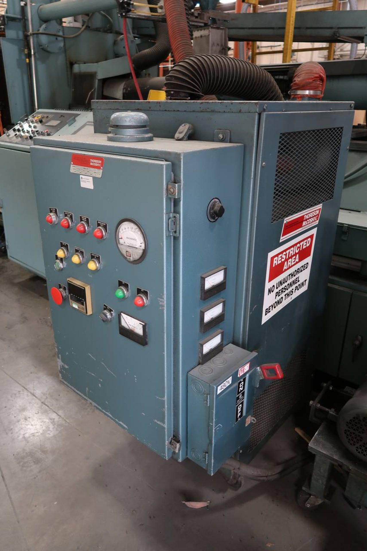 1986 HPM 400-TP-20 400-Ton Thermo Plastic Injection Molding Press - Image 37 of 40