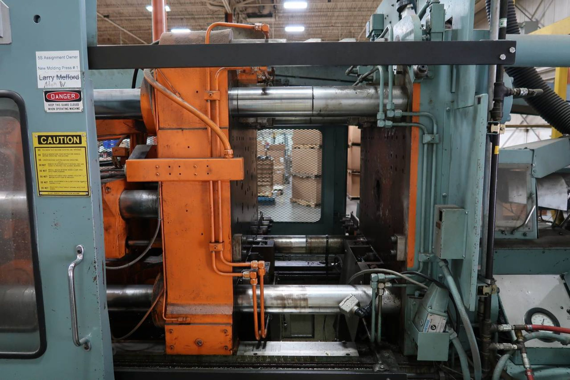 1986 HPM 400-TP-20 400-Ton Thermo Plastic Injection Molding Press - Image 7 of 40