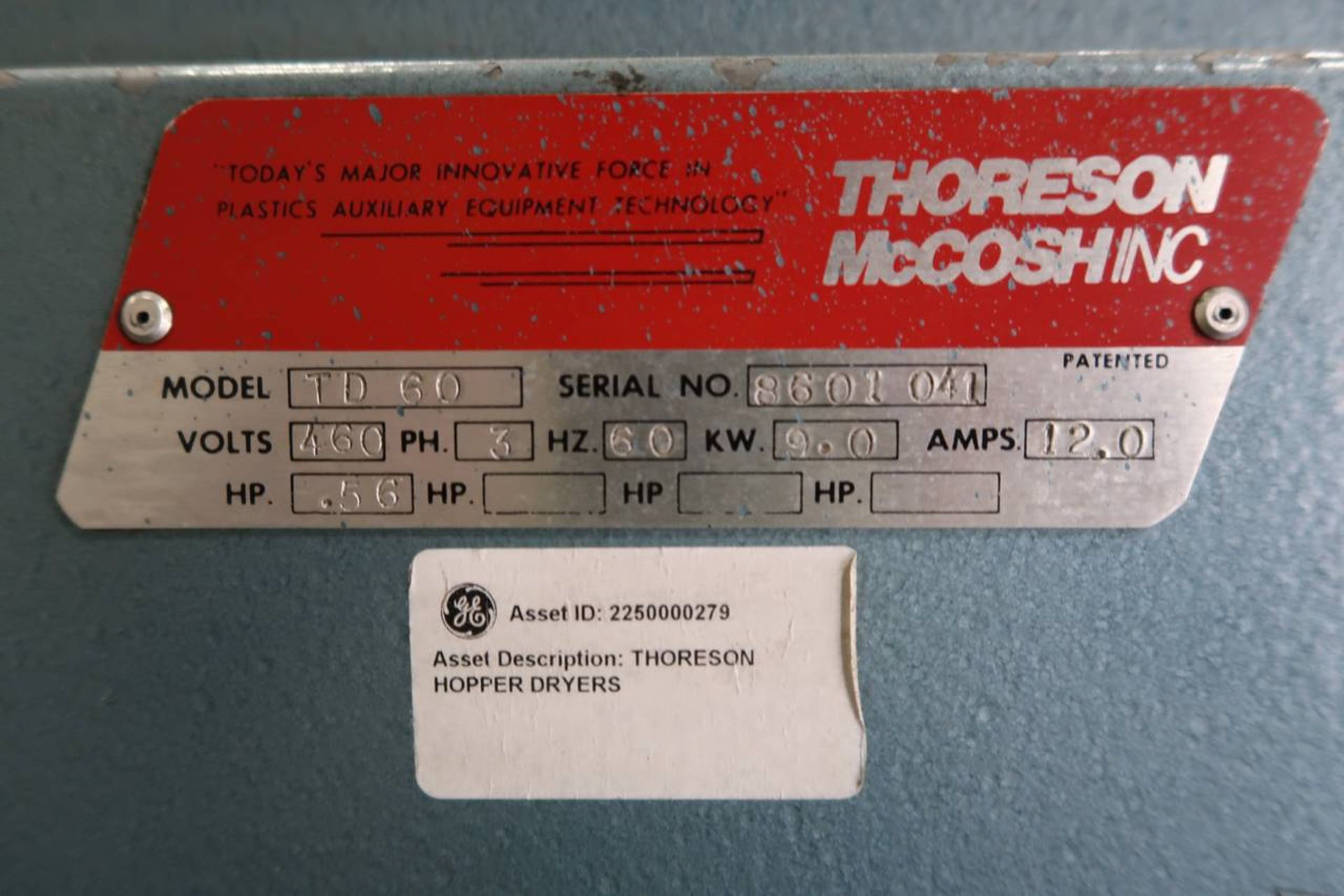 1986 HPM 400-TP-20 400-Ton Thermo Plastic Injection Molding Press - Image 39 of 40