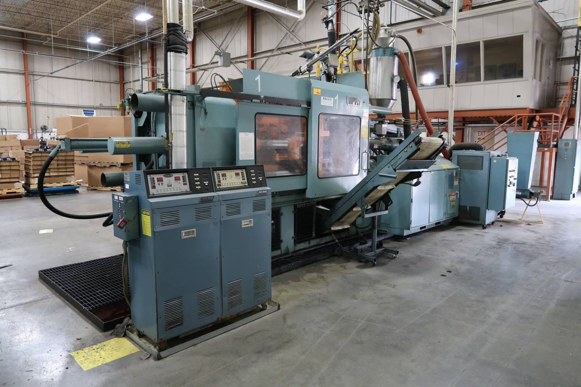1986 HPM 400-TP-20 400-Ton Thermo Plastic Injection Molding Press