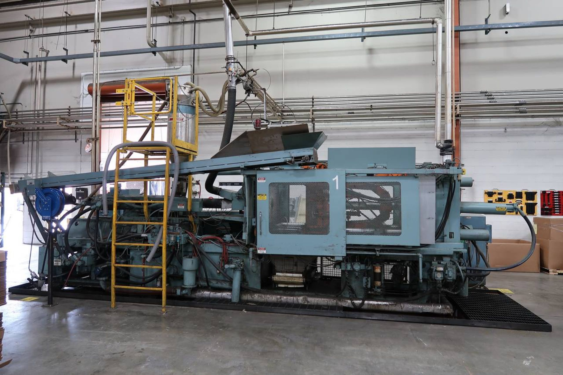 1986 HPM 400-TP-20 400-Ton Thermo Plastic Injection Molding Press - Image 5 of 40