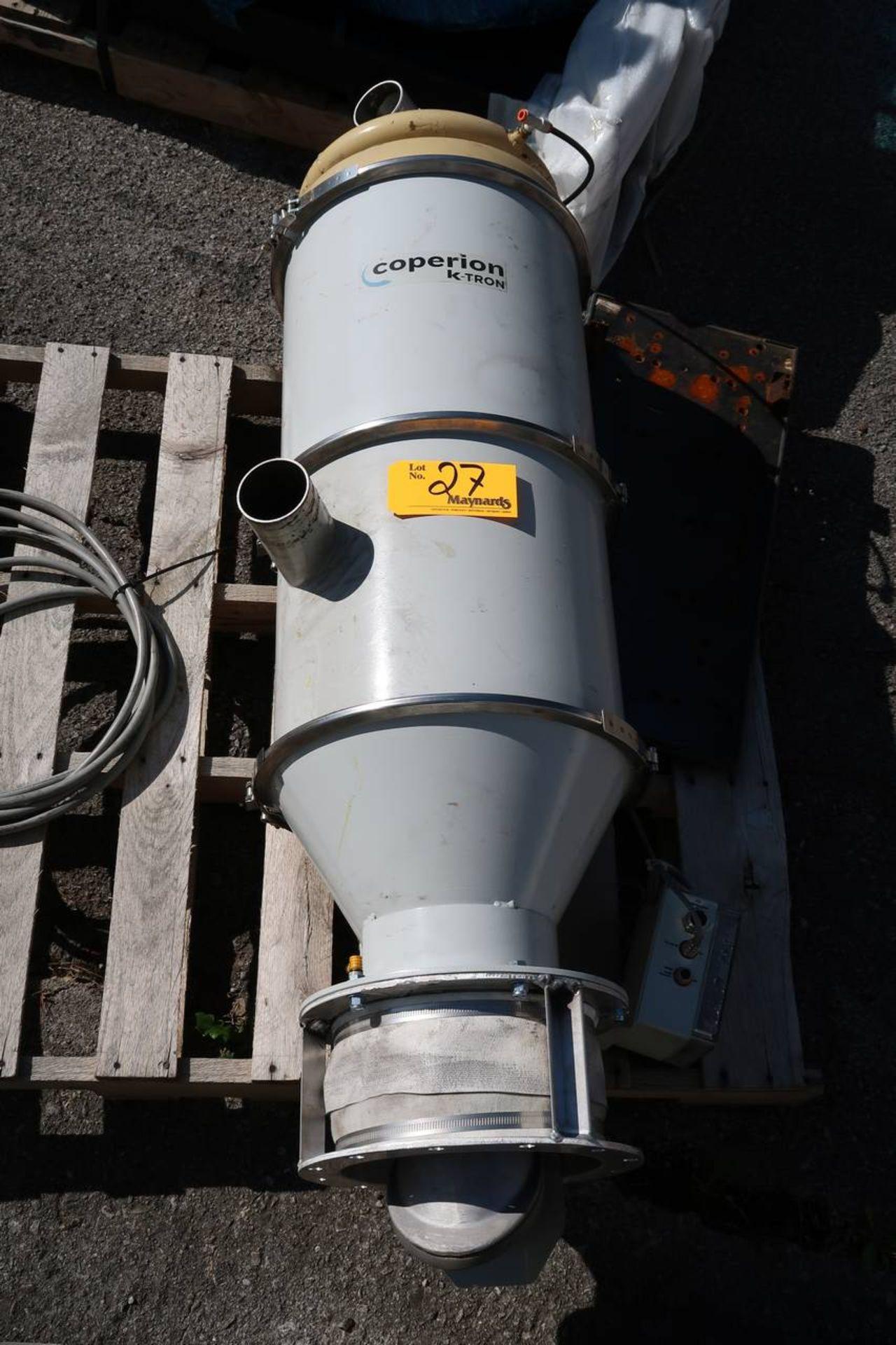 Coperion K-Tron 5189-40M Vacuum Hopper - Image 3 of 4